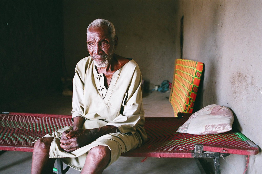 Baji Kone, village chief